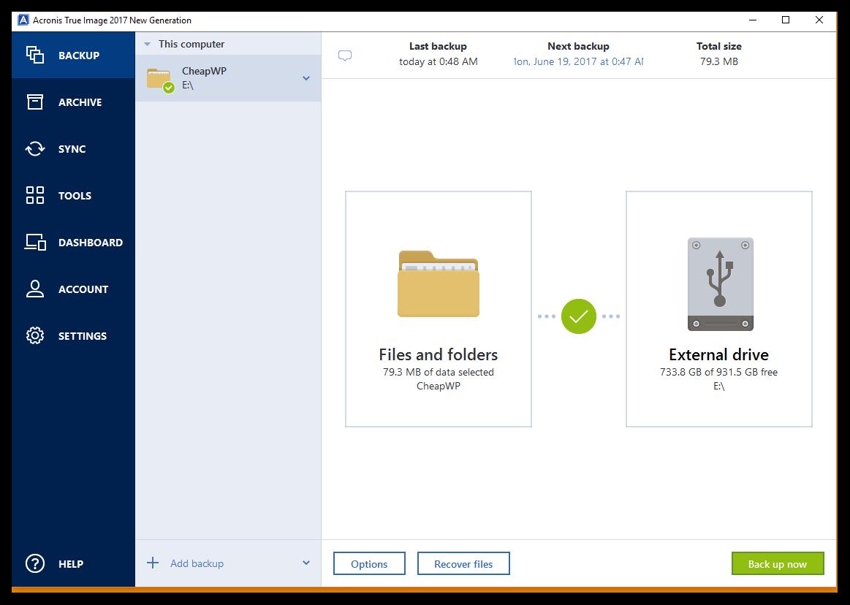 restaurer votre disque dur – FAIT